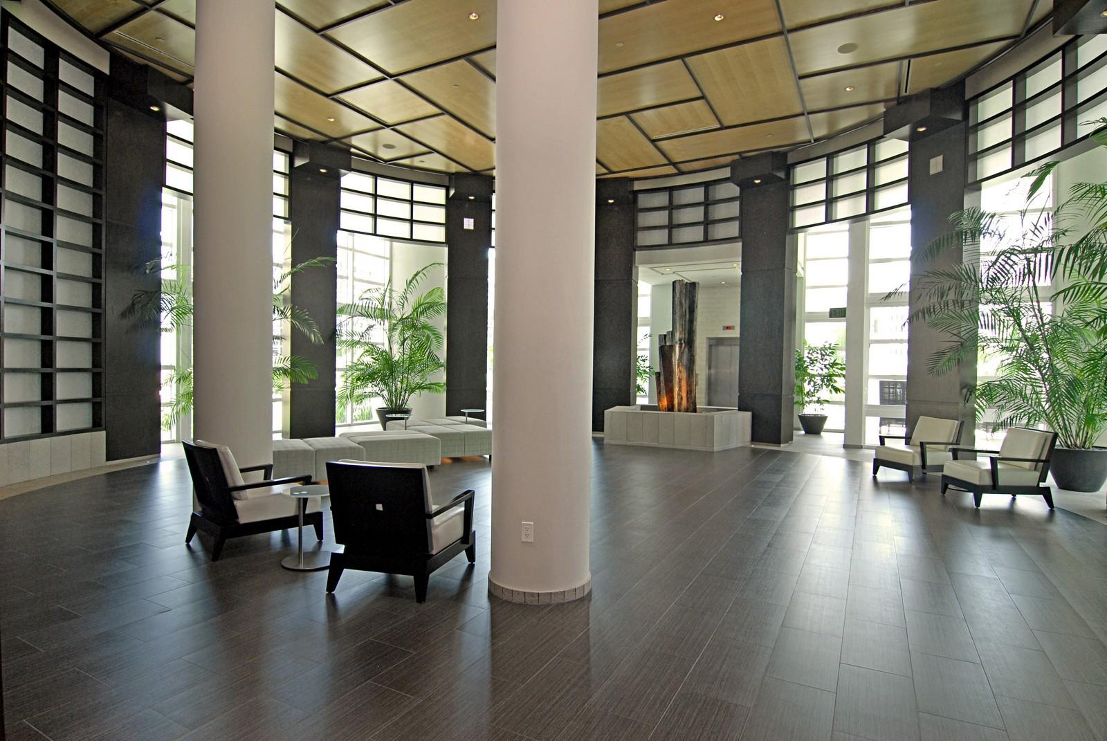 Real Estate Photography - 900 Brickell Key Blvd, Apt 3004, Miami, FL, 33131 - Lobby