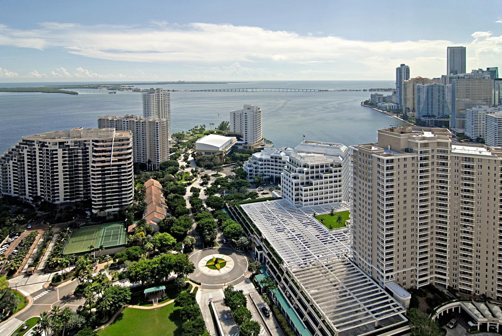 Real Estate Photography - 900 Brickell Key Blvd, Apt 3004, Miami, FL, 33131 - View