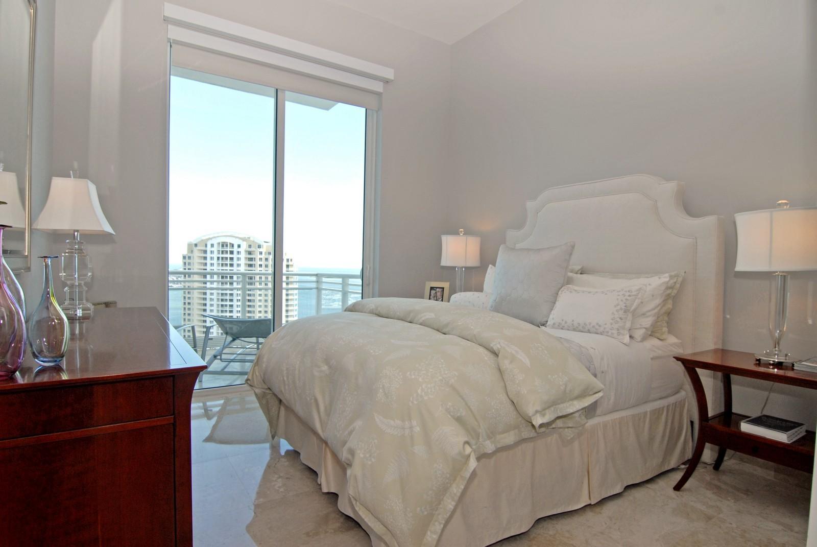Real Estate Photography - 900 Brickell Key Blvd, Apt 3004, Miami, FL, 33131 - 2nd Bedroom