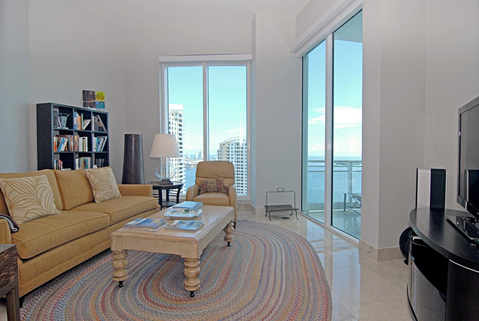 Real Estate Photography - 900 Brickell Key Blvd, Apt 3004, Miami, FL, 33131 - 3rd bedroom