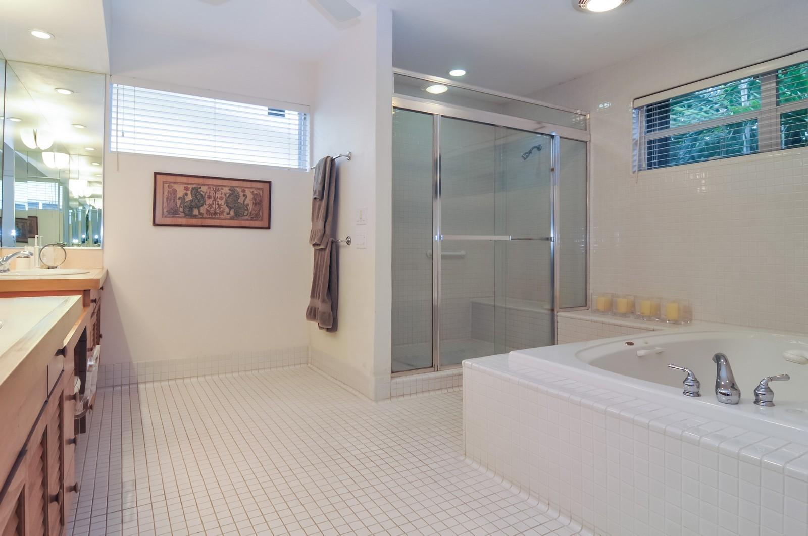 Real Estate Photography - 240 East Shore Drive, Miami, FL, 33133 - Master Bathroom