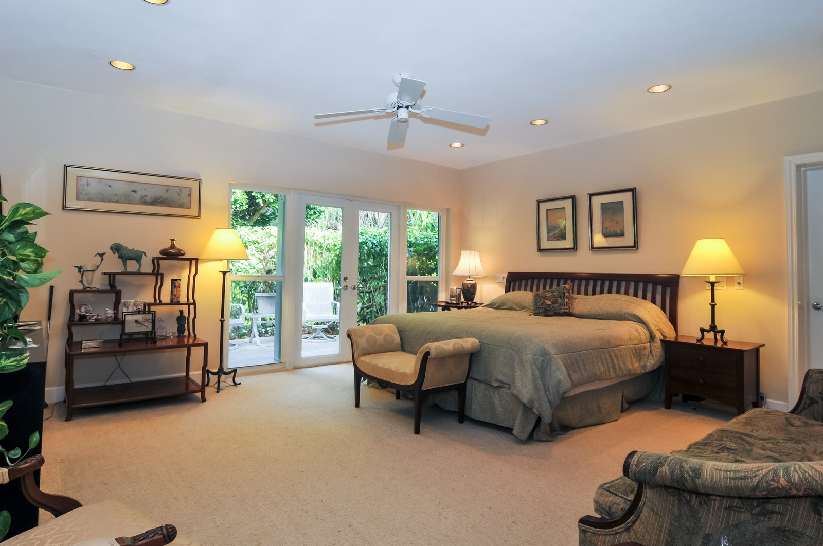 Real Estate Photography - 240 East Shore Drive, Miami, FL, 33133 - Master Bedroom