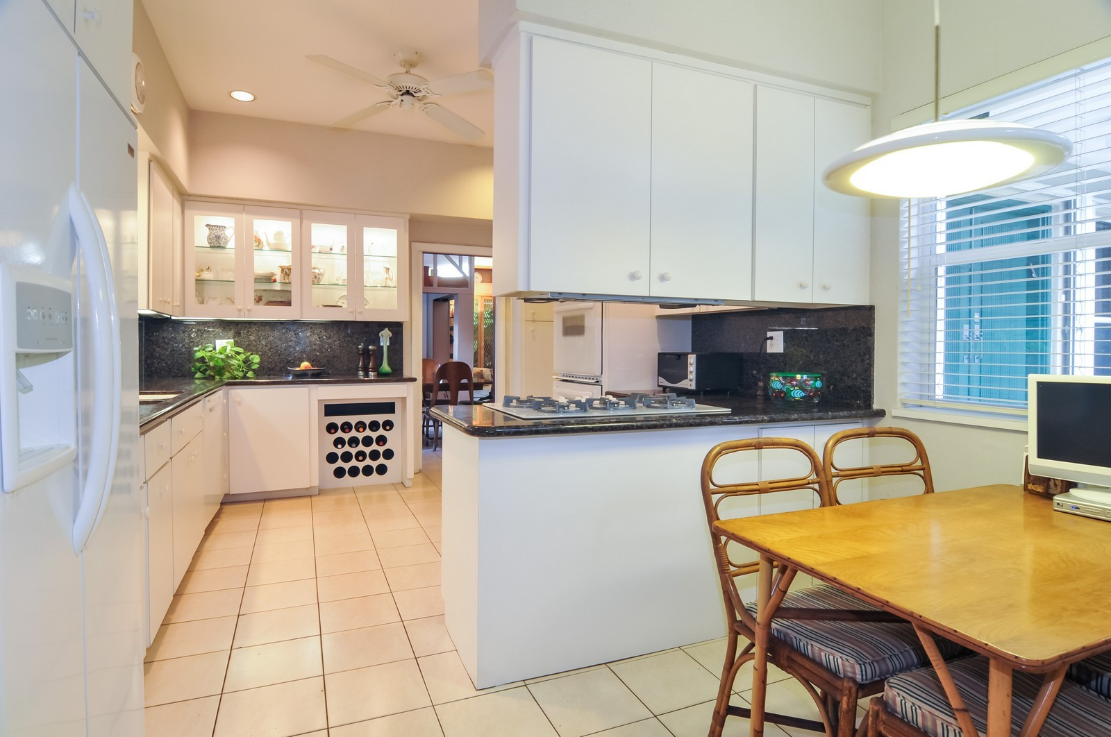 Real Estate Photography - 240 East Shore Drive, Miami, FL, 33133 - Kitchen / Breakfast Room