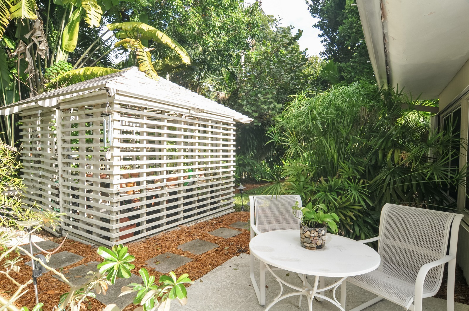 Real Estate Photography - 240 East Shore Drive, Miami, FL, 33133 - Green House
