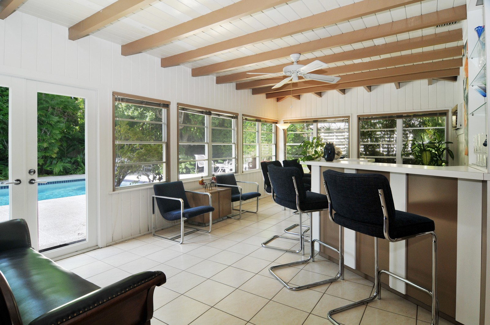Real Estate Photography - 240 East Shore Drive, Miami, FL, 33133 - Family Room