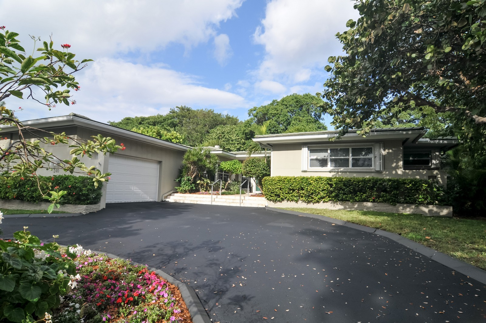 Real Estate Photography - 240 East Shore Drive, Miami, FL, 33133 - Front View