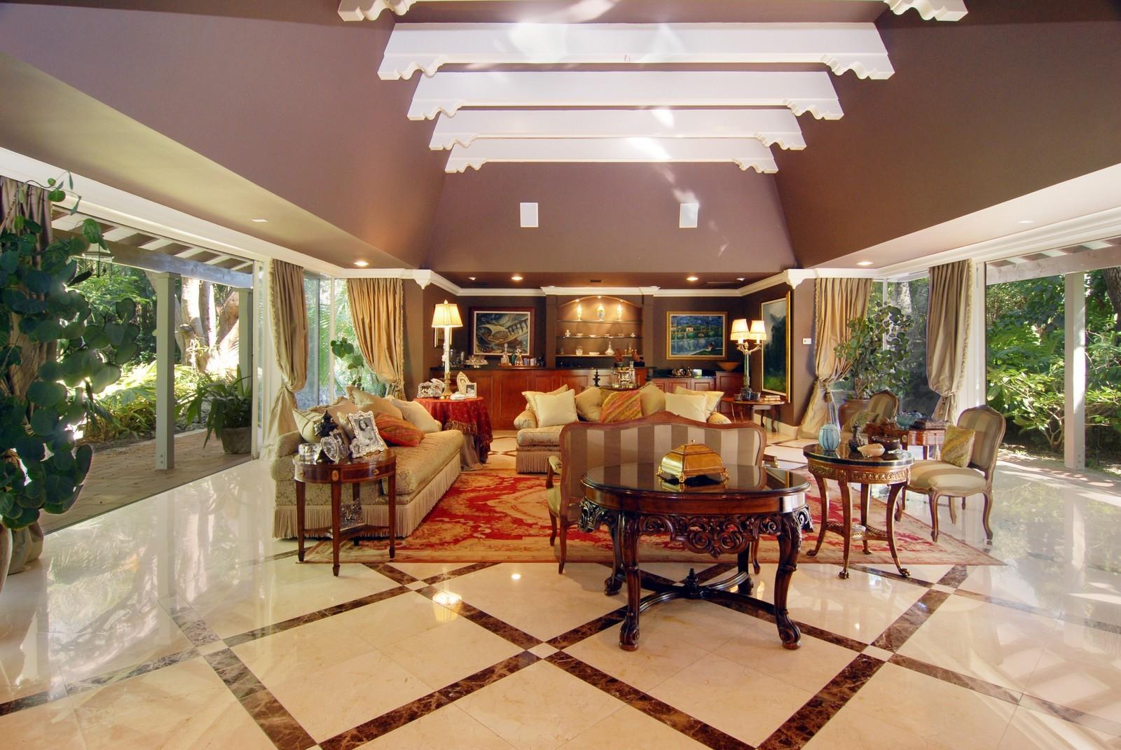 Real Estate Photography - 4845 Davis Rd, Miami, FL, 33143 - Living Room