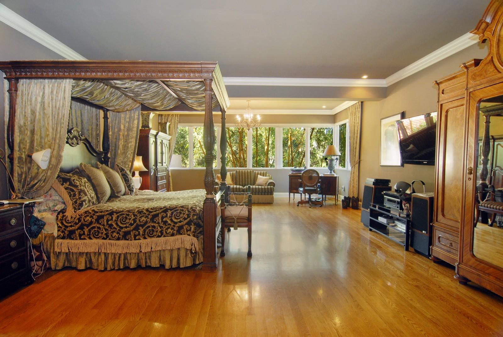 Real Estate Photography - 4845 Davis Rd, Miami, FL, 33143 - Master Bedroom