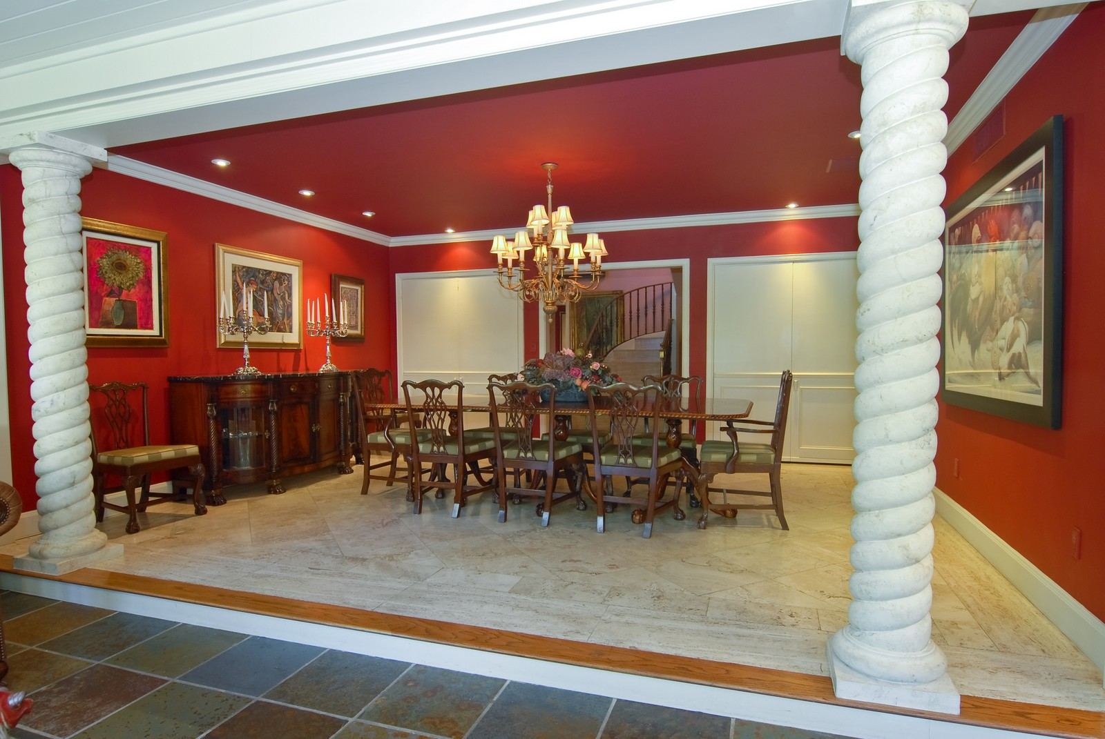 Real Estate Photography - 4845 Davis Rd, Miami, FL, 33143 - Dining Room
