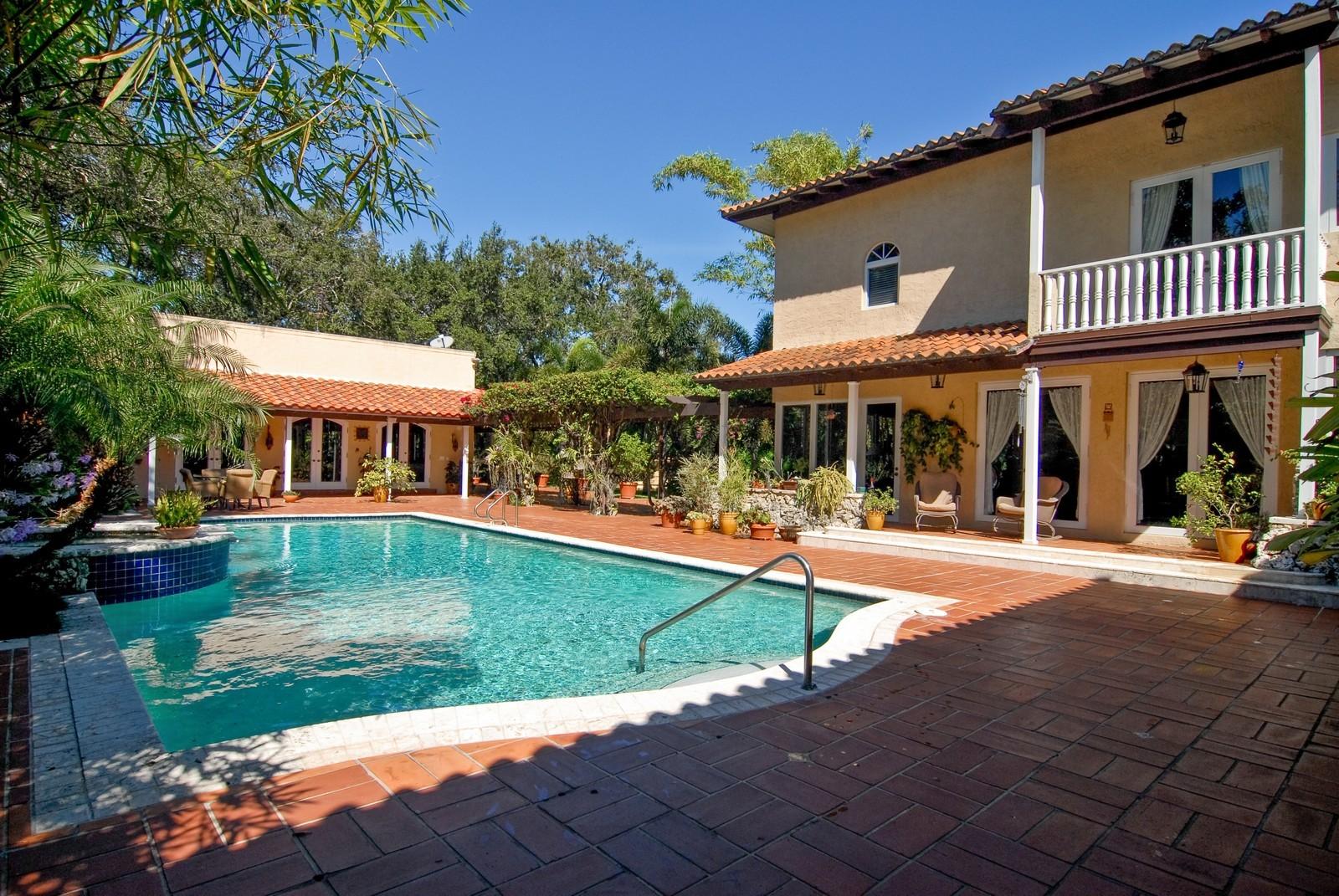 Real Estate Photography - 4845 Davis Rd, Miami, FL, 33143 - Pool