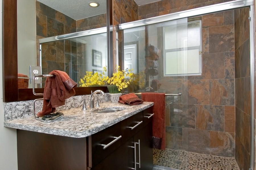 Real Estate Photography - 9705 NW 63 Pl, Parkland, FL, 33076 - 3rd Bathroom