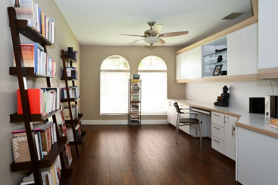 Real Estate Photography - 9705 NW 63 Pl, Parkland, FL, 33076 - Office / Bedroom 5