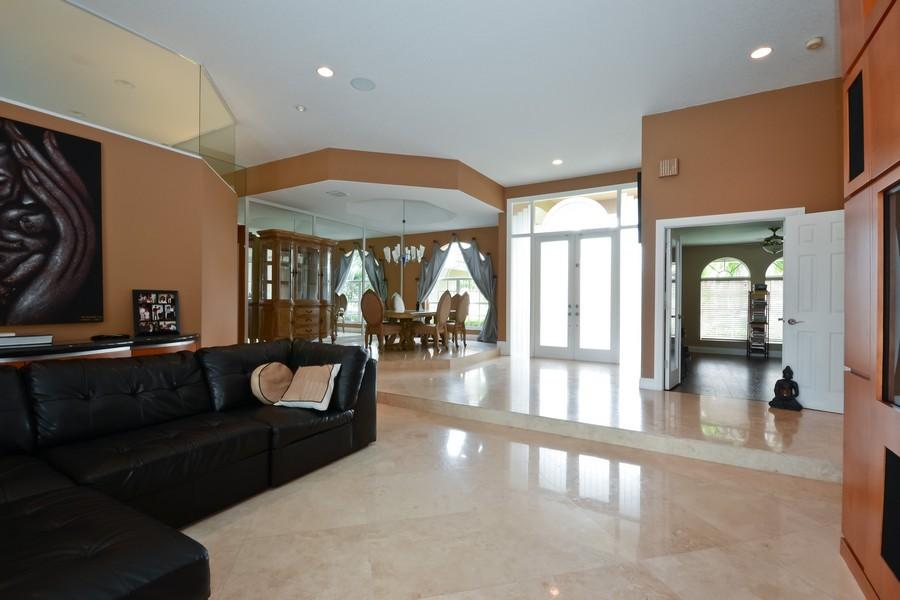 Real Estate Photography - 9705 NW 63 Pl, Parkland, FL, 33076 - Living Room