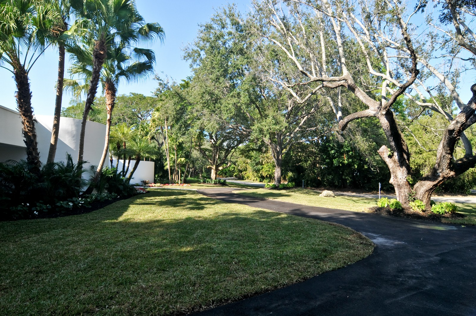 Real Estate Photography - 6500 SW 135th Ter, Pinecrest, FL, 33156 - Front Yard