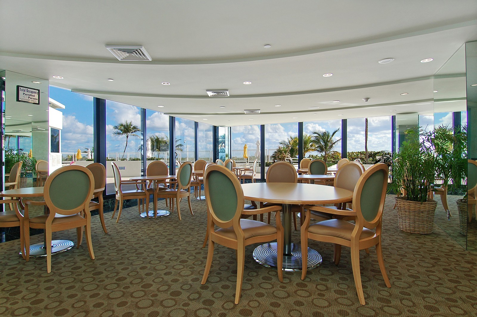 Real Estate Photography - 1400 S Ocean Blvd, Unit N1103-1104, Boca Raton, FL, 33432 - Restaurant