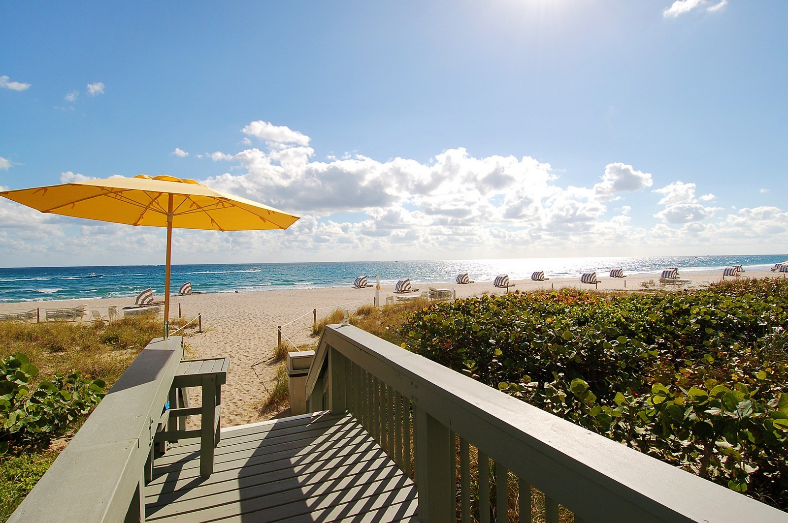 Real Estate Photography - 1400 S Ocean Blvd, Unit N1103-1104, Boca Raton, FL, 33432 - Beach