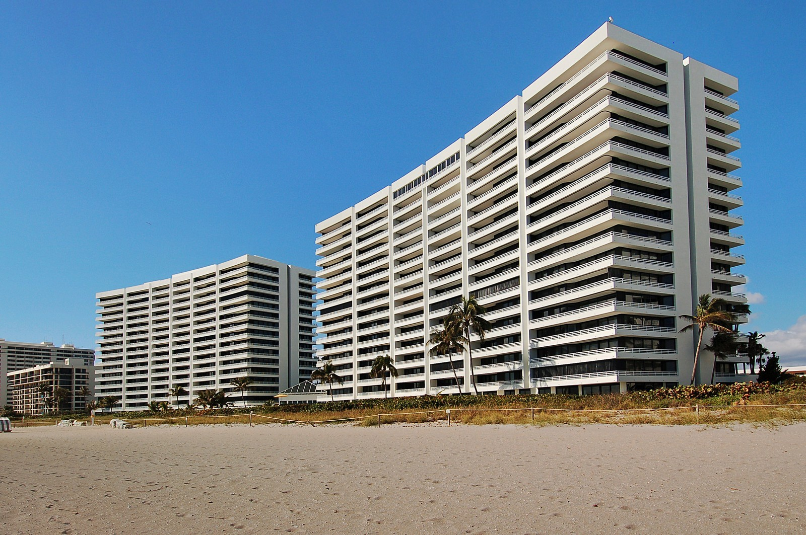 Real Estate Photography - 1400 S Ocean Blvd, Unit N1103-1104, Boca Raton, FL, 33432 - Rear View