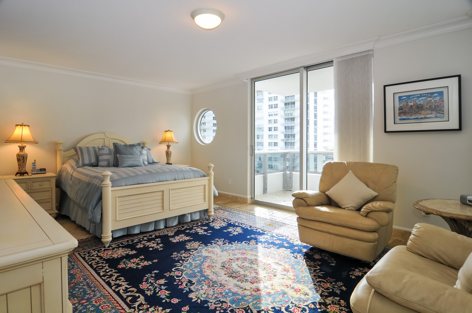 Real Estate Photography - 5801 Collins Ave, Unit 800, Miami Beach, FL, 33140 - 2nd Bedroom