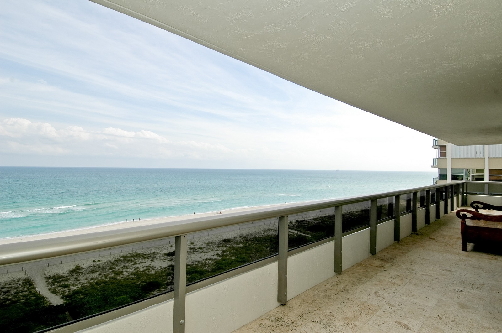 Real Estate Photography - 5801 Collins Ave, Unit 1000, Miami Beach, FL, 33140 - View