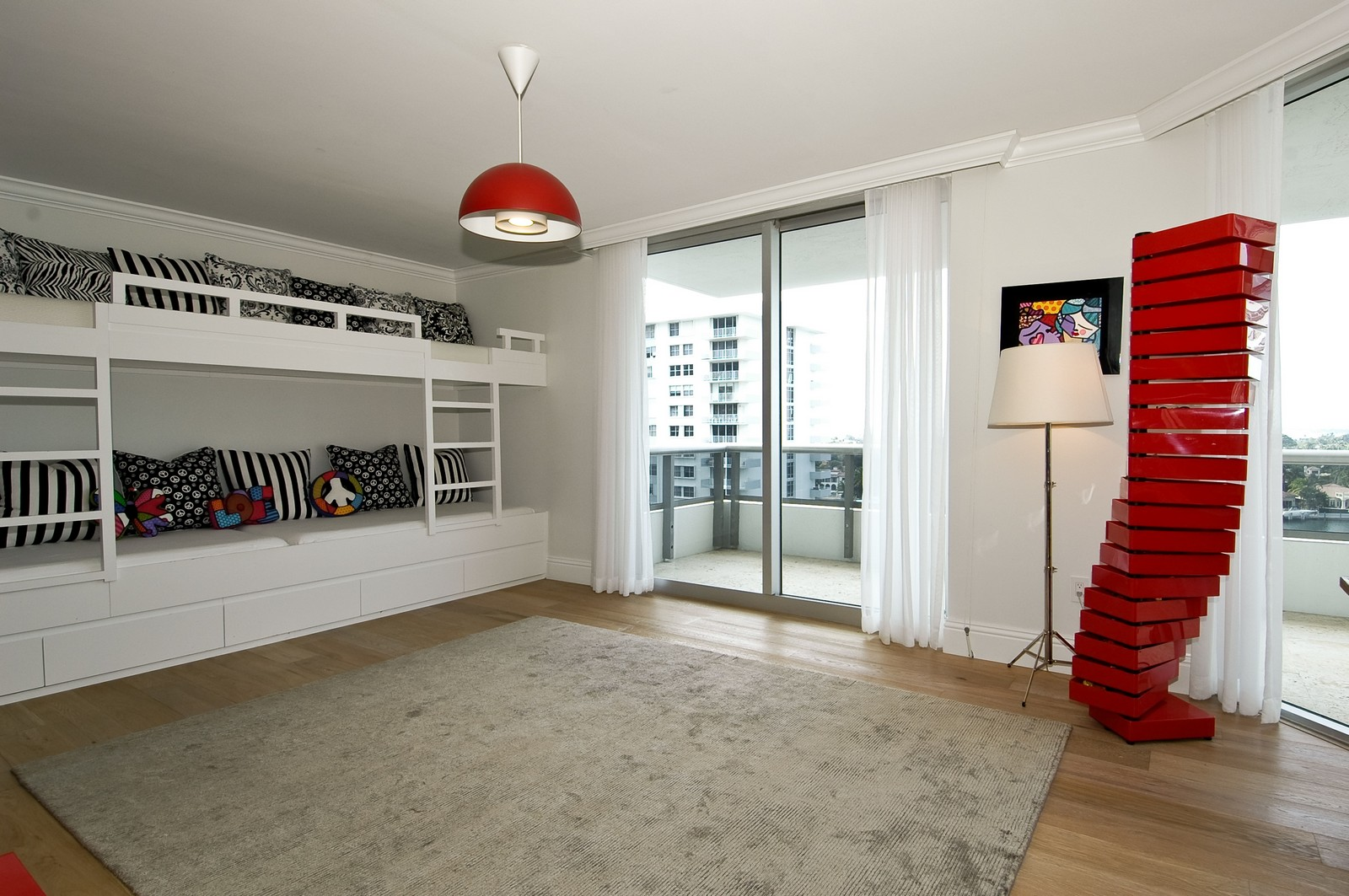 Real Estate Photography - 5801 Collins Ave, Unit 1000, Miami Beach, FL, 33140 - Bedroom