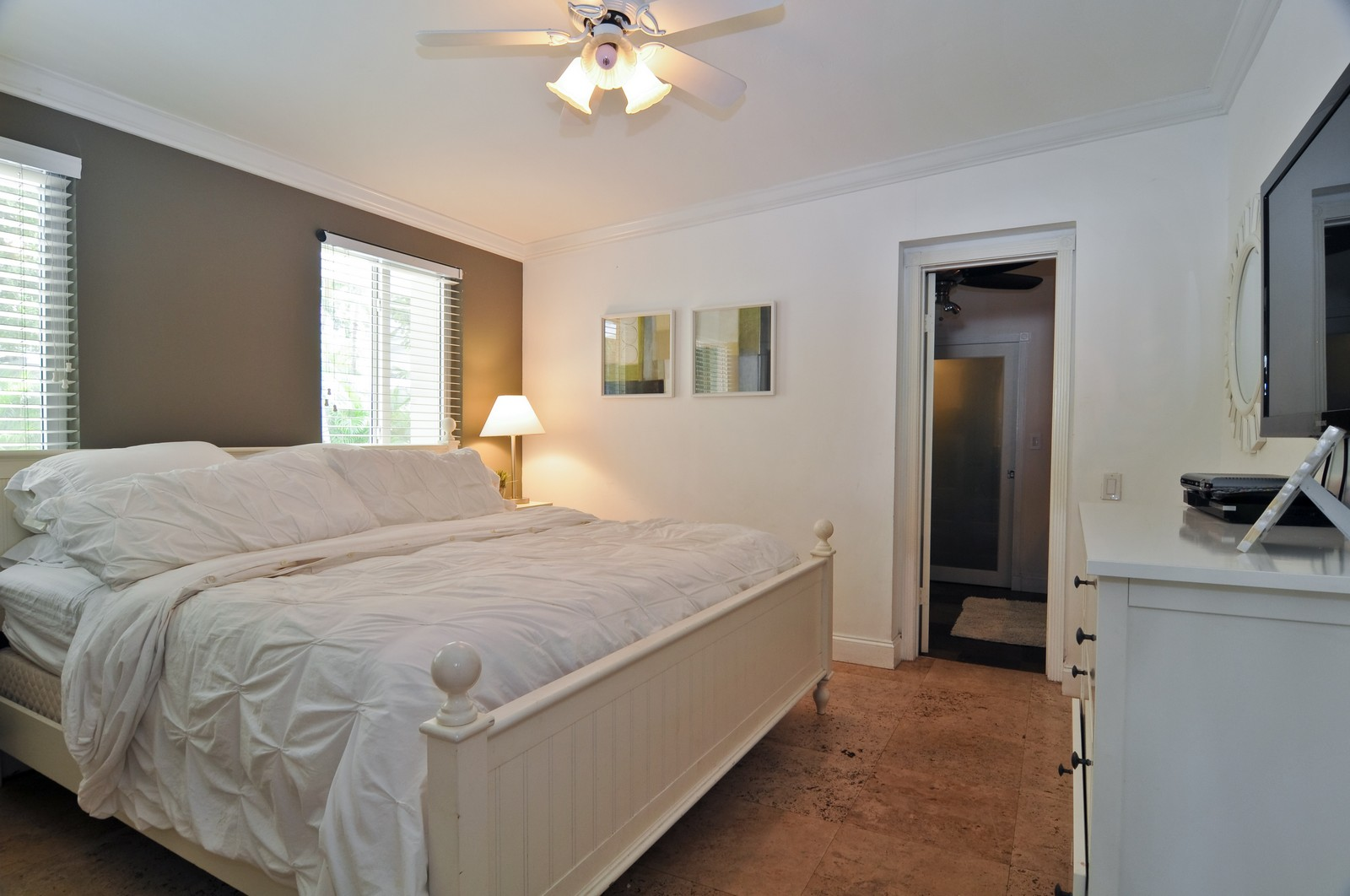 Real Estate Photography - 285 Glenrigde Rd, Key Biscayne, FL, 33149 - Master Bedroom