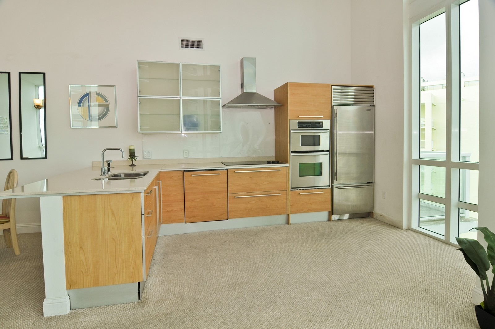 Real Estate Photography - 218 SE 14th St, PH 2, Miami, FL, 33131 - Kitchen