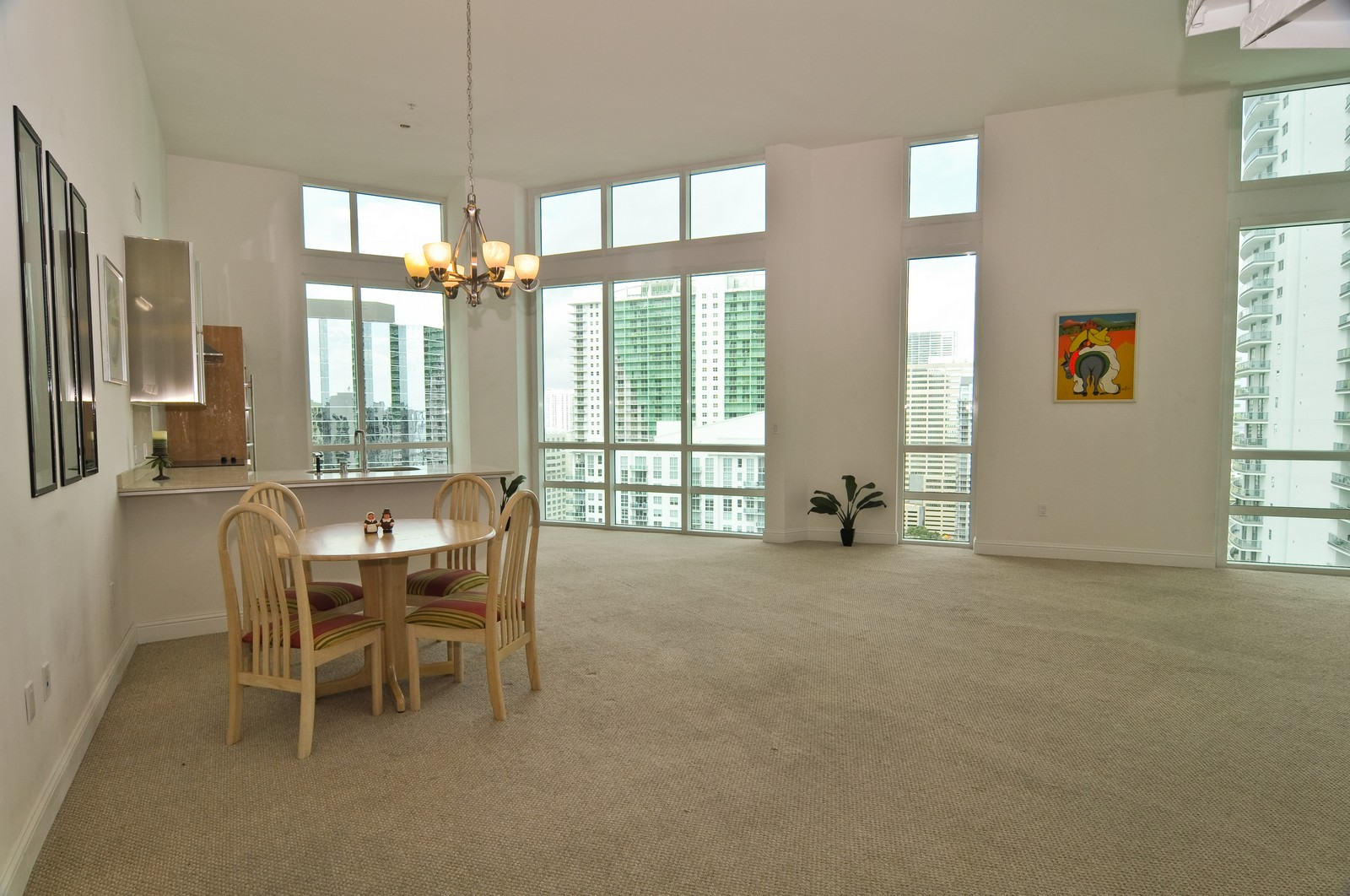 Real Estate Photography - 218 SE 14th St, PH 2, Miami, FL, 33131 - Kitchen / Dining Room