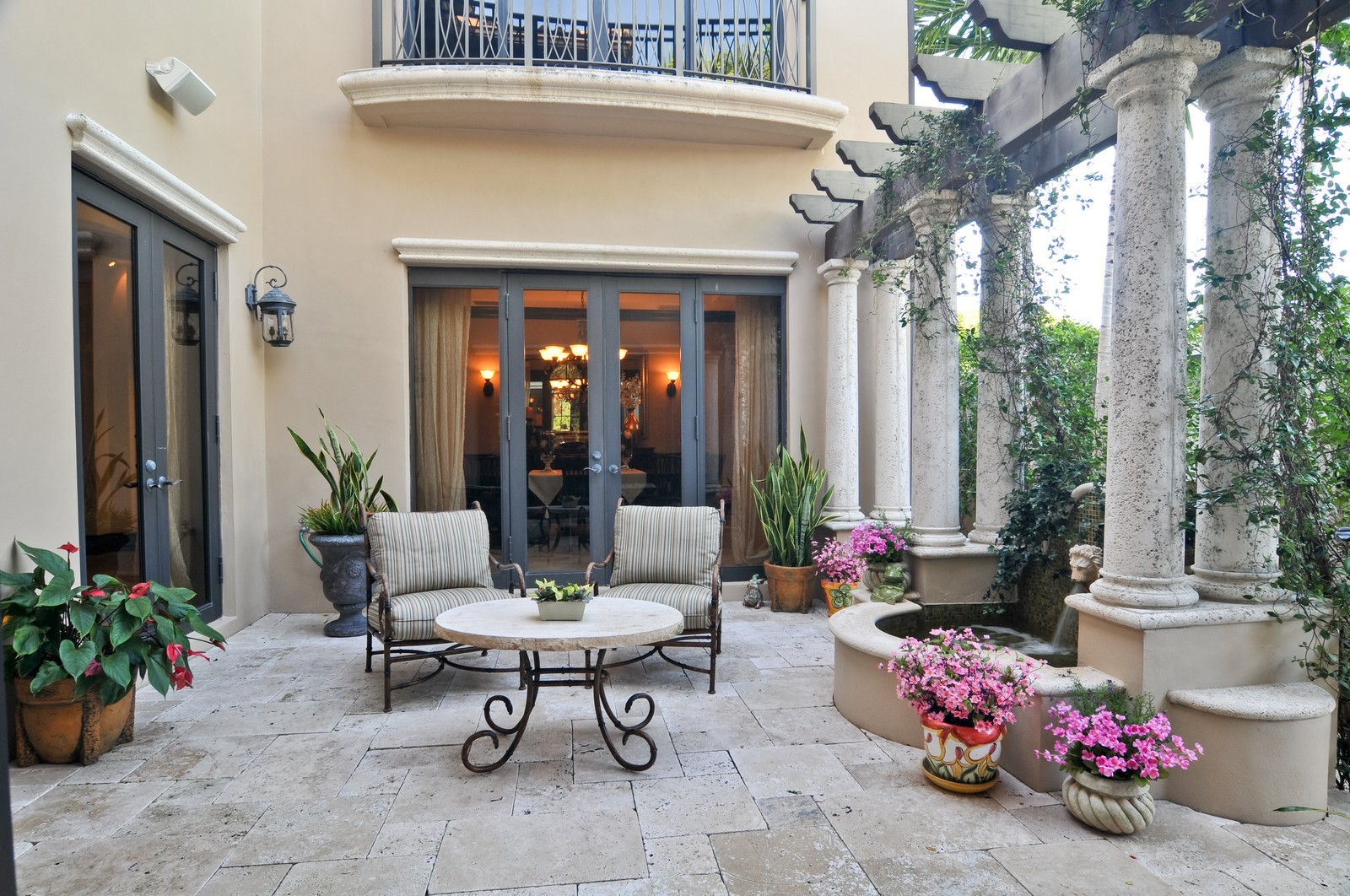Real Estate Photography - 3040 Prairie Ave, Miami Beach, FL, 33140 - Terrace