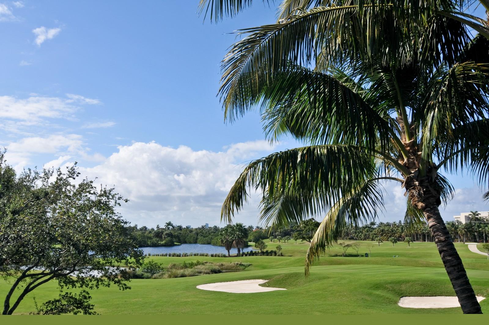 Real Estate Photography - 3040 Prairie Ave, Miami Beach, FL, 33140 - Golf Course