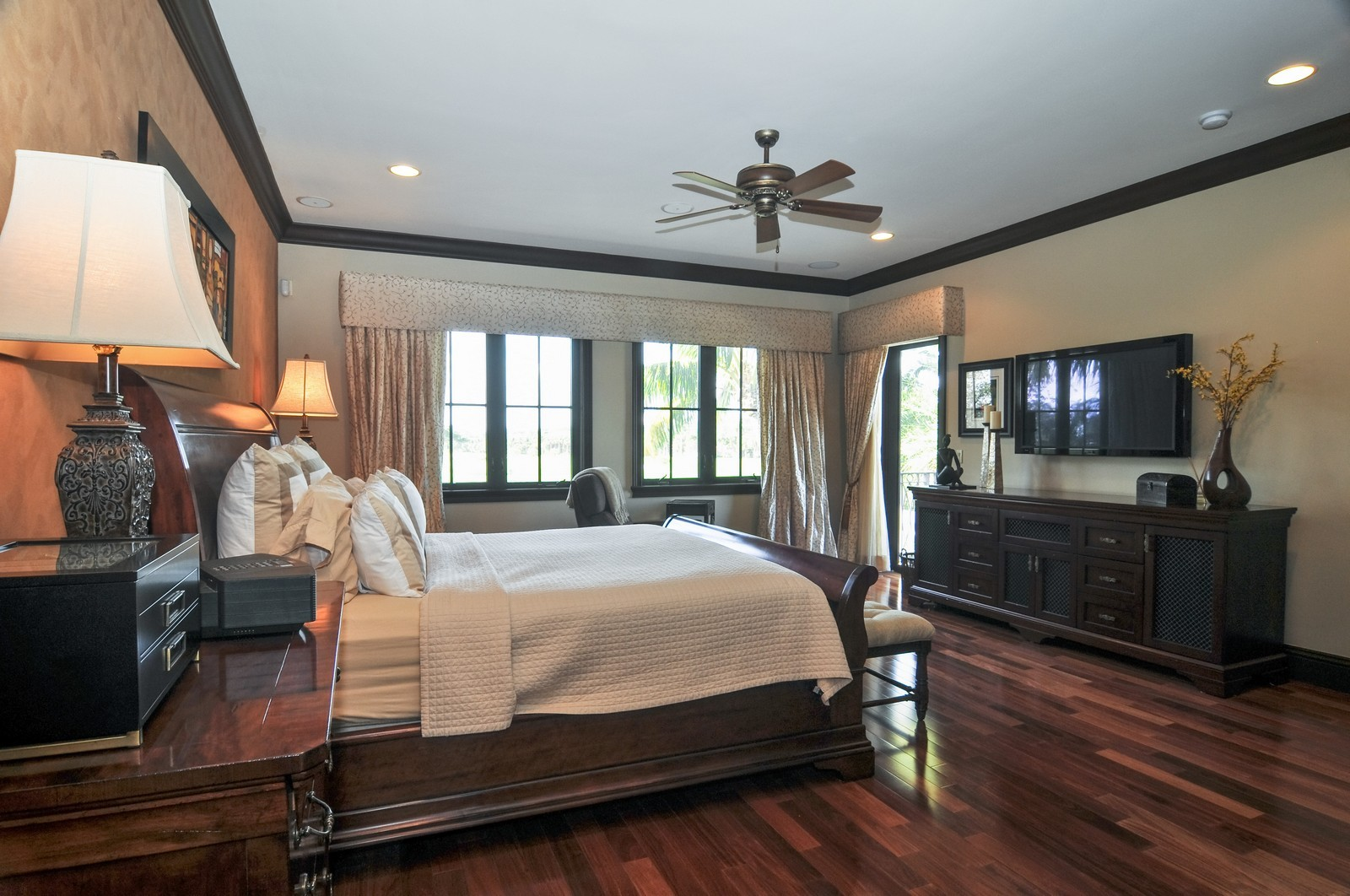Real Estate Photography - 3040 Prairie Ave, Miami Beach, FL, 33140 - Master Bedroom