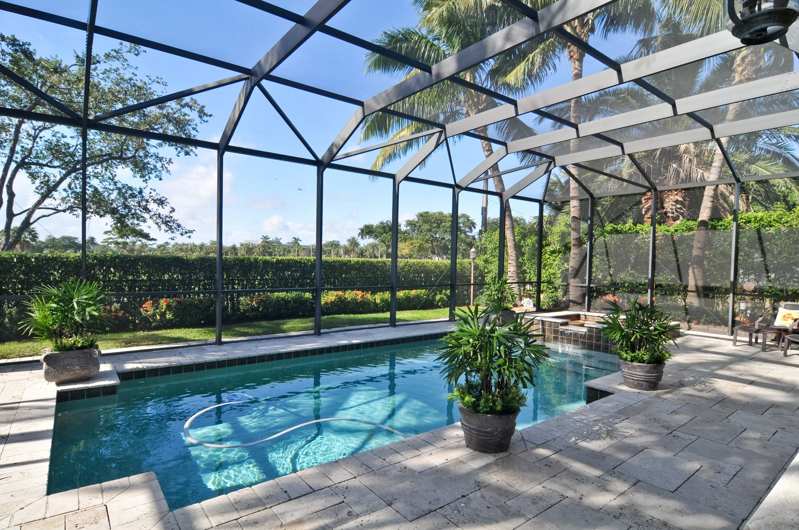 Real Estate Photography - 3040 Prairie Ave, Miami Beach, FL, 33140 - Pool