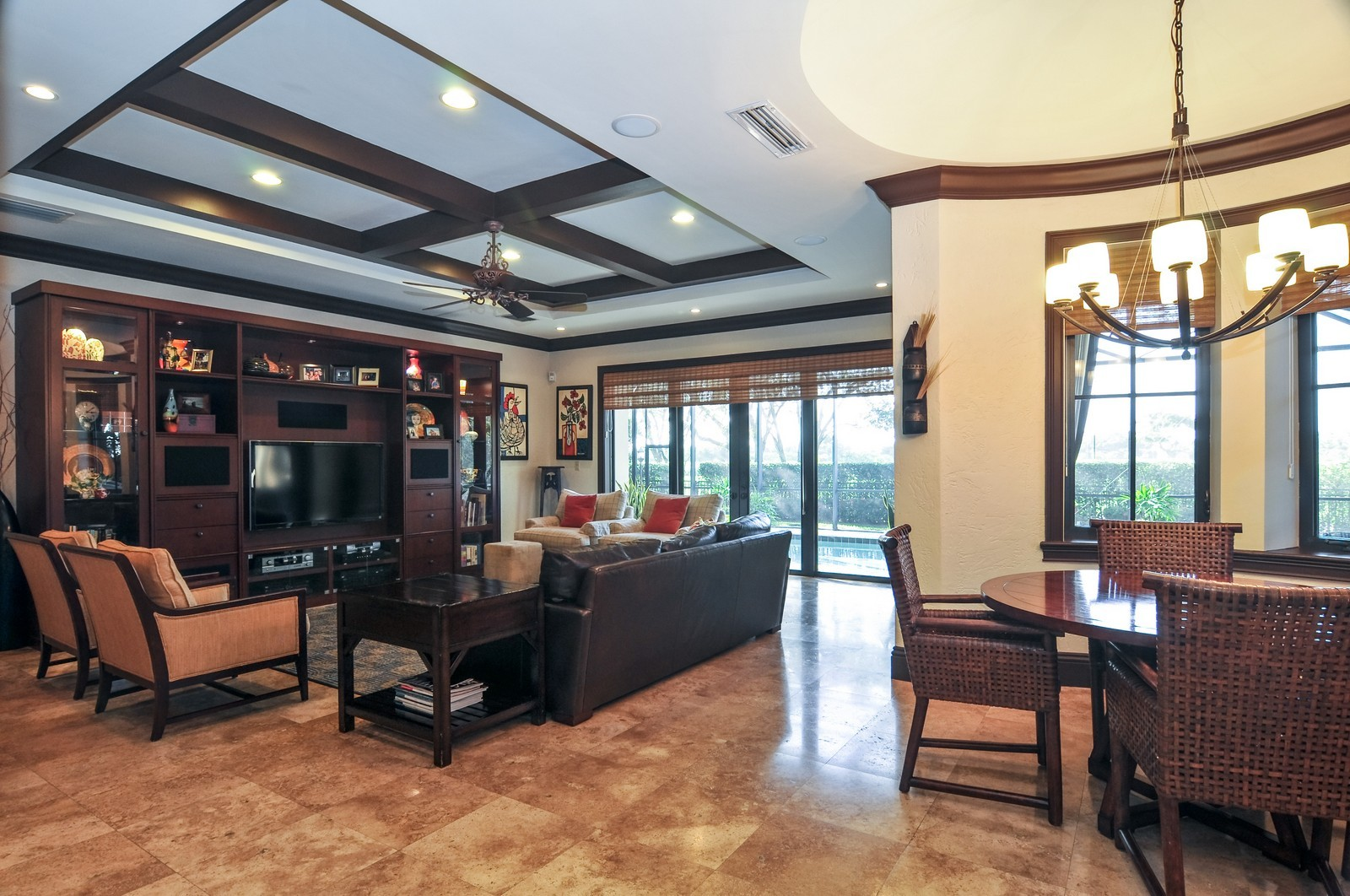 Real Estate Photography - 3040 Prairie Ave, Miami Beach, FL, 33140 - Family Room