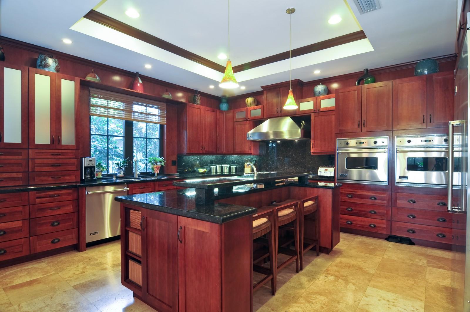 Real Estate Photography - 3040 Prairie Ave, Miami Beach, FL, 33140 - Kitchen