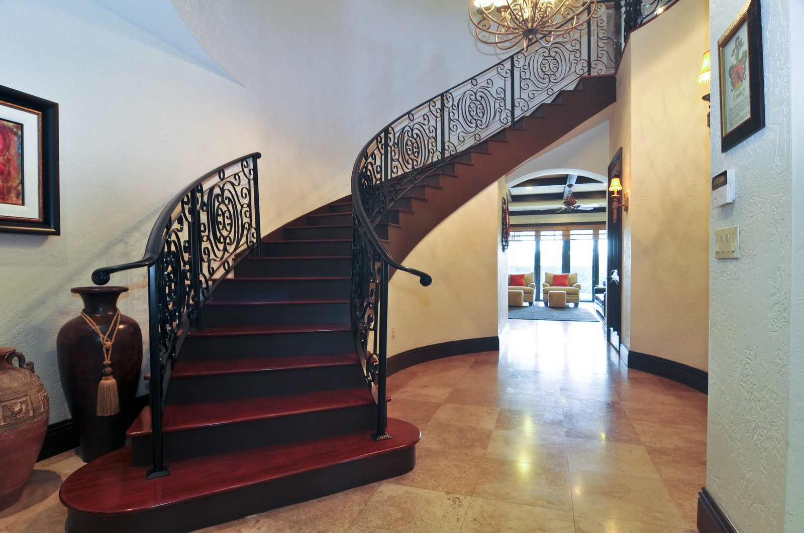 Real Estate Photography - 3040 Prairie Ave, Miami Beach, FL, 33140 - Staircase