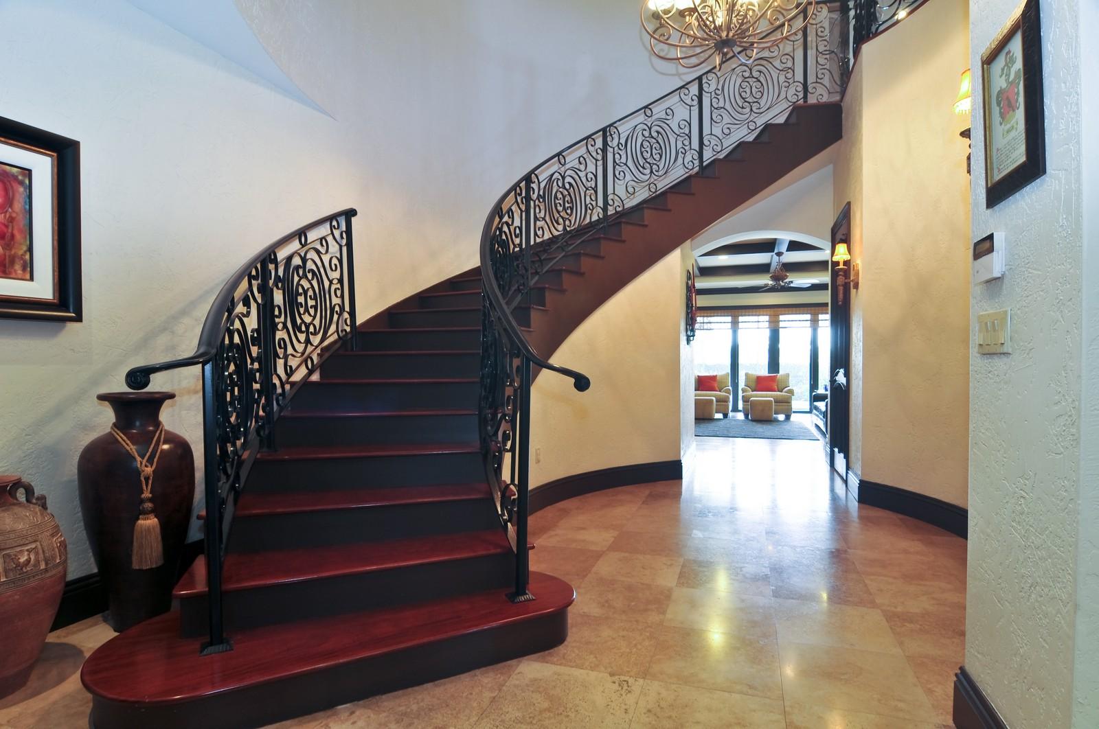 Real Estate Photography - 3040 Prairie Ave, Miami Beach, FL, 33140 - Staircase