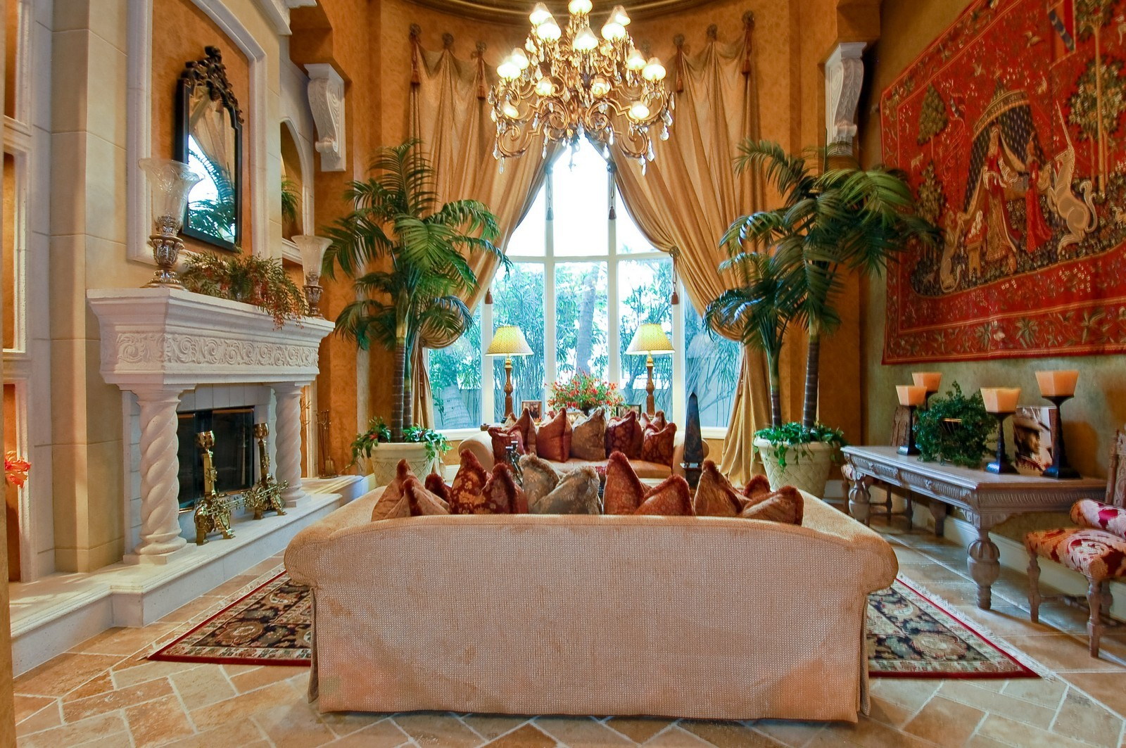 Real Estate Photography - 307 Mizner Lake Estates Dr, Boca Raton, FL, 33432 - Living Room
