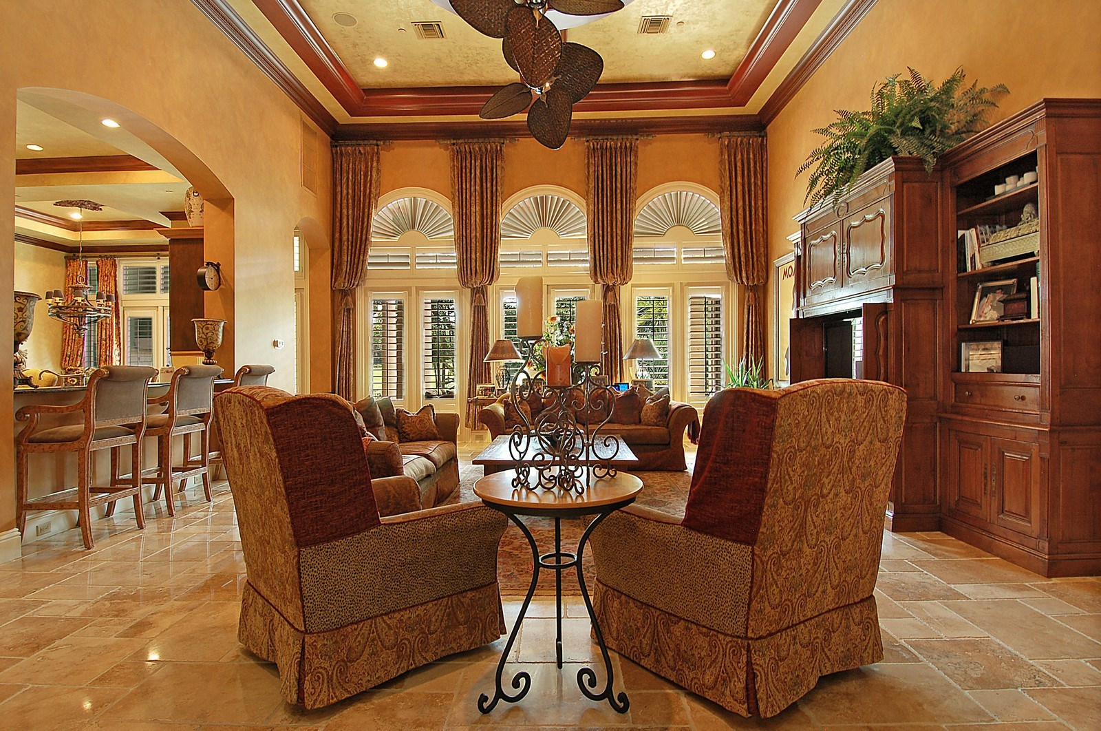Real Estate Photography - 307 Mizner Lake Estates Dr, Boca Raton, FL, 33432 - Family Room
