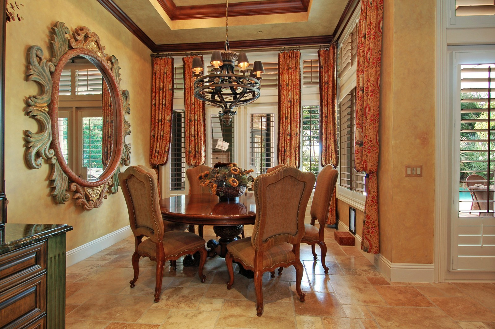 Real Estate Photography - 307 Mizner Lake Estates Dr, Boca Raton, FL, 33432 - Breakfast Area