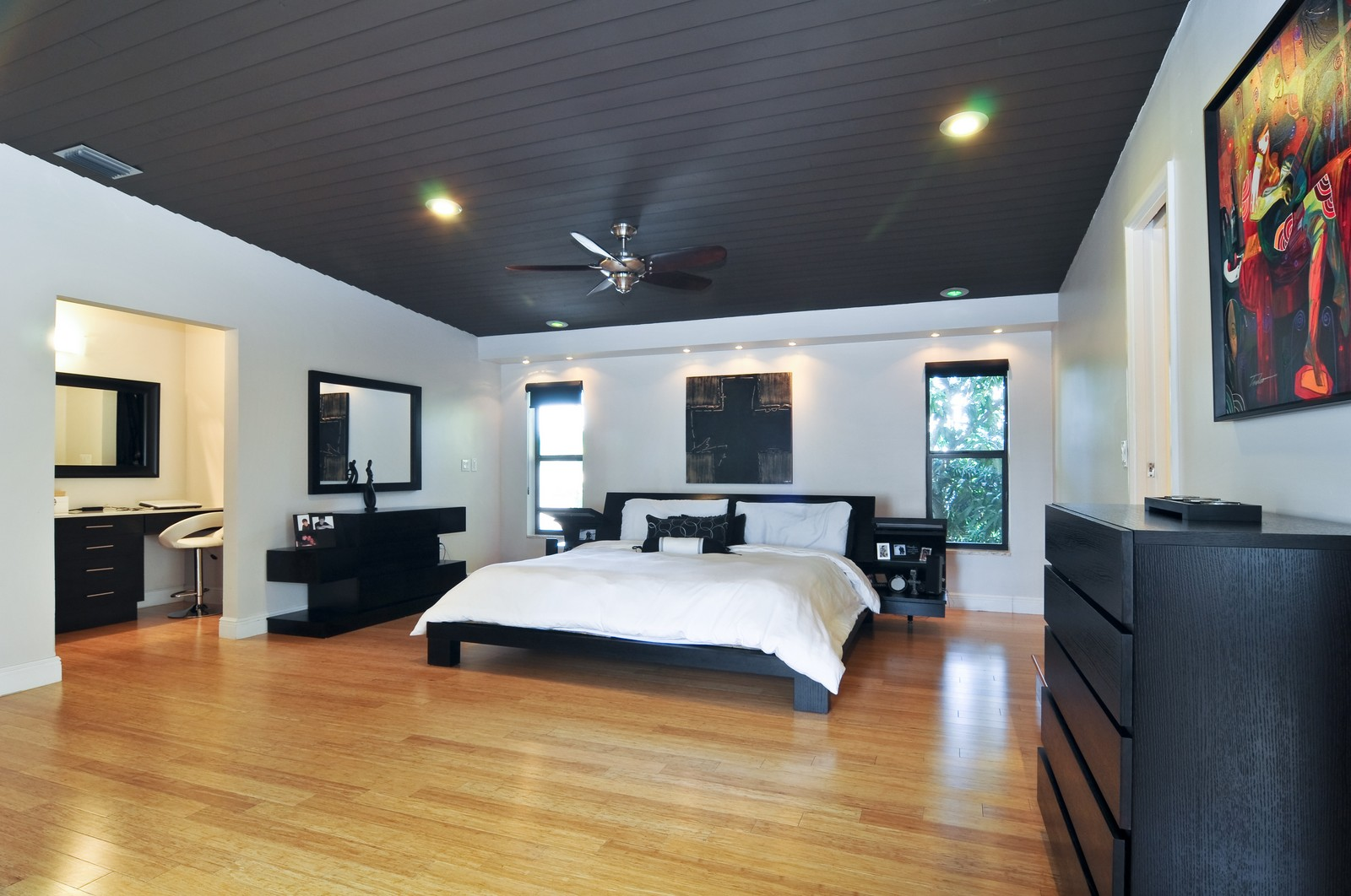 Real Estate Photography - 17125SW 80th Ct., Palmetto Bay, FL, 33157 - Master Bedroom