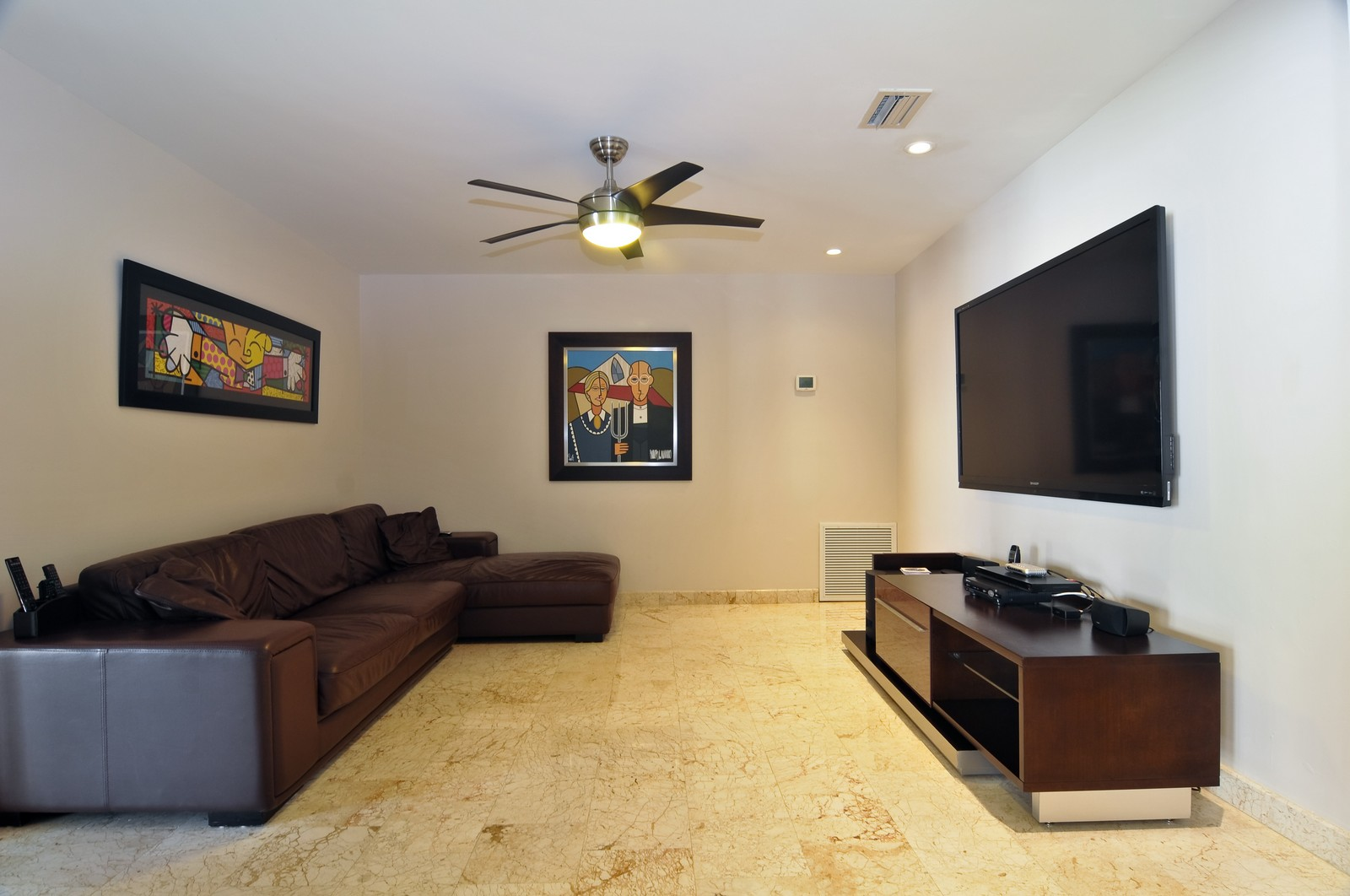 Real Estate Photography - 17125SW 80th Ct., Palmetto Bay, FL, 33157 - Family Room