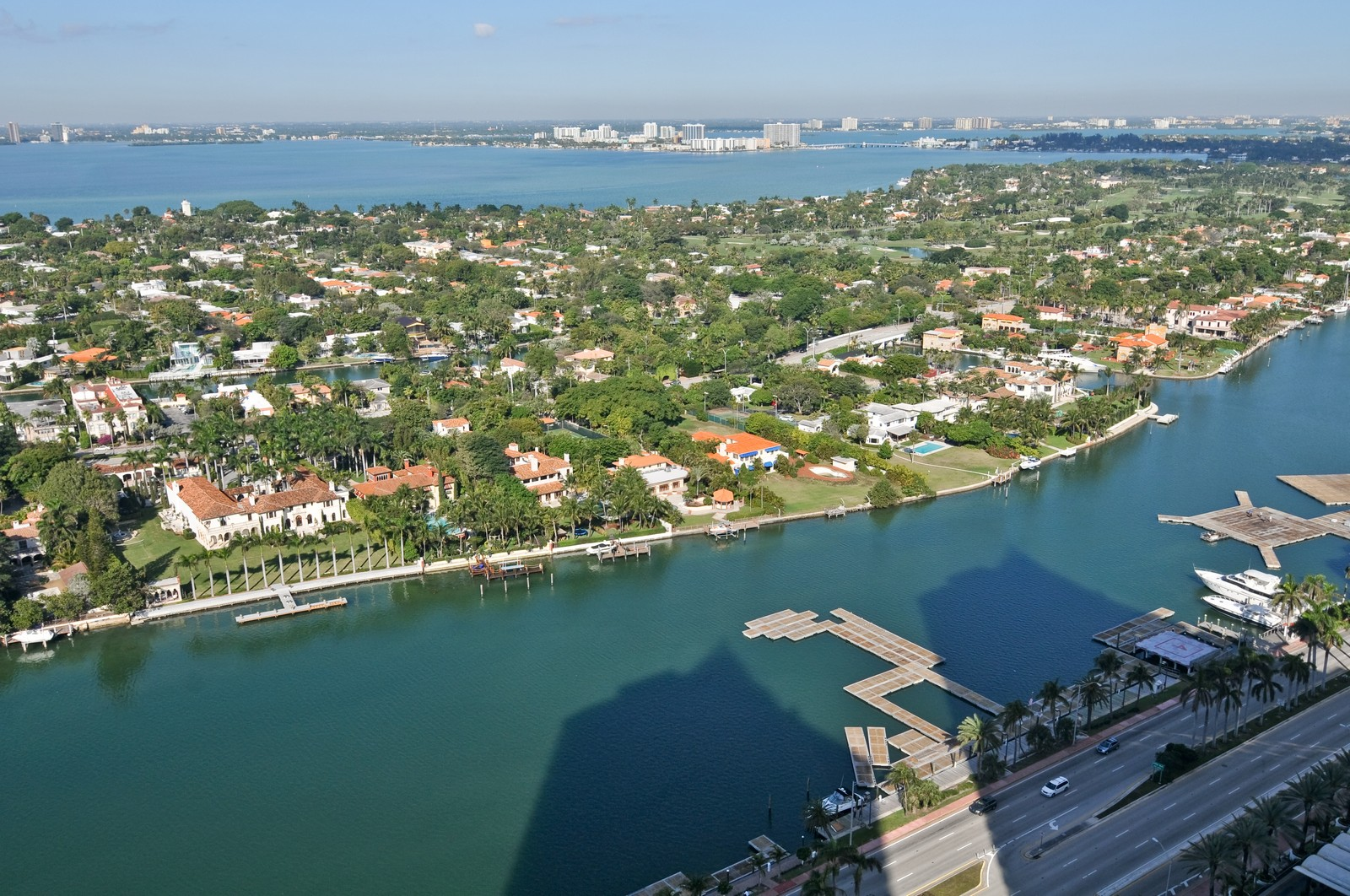 Real Estate Photography - 4775 Collins Ave, Unit 3708, Miami Beach, FL, 33140 - Canal View