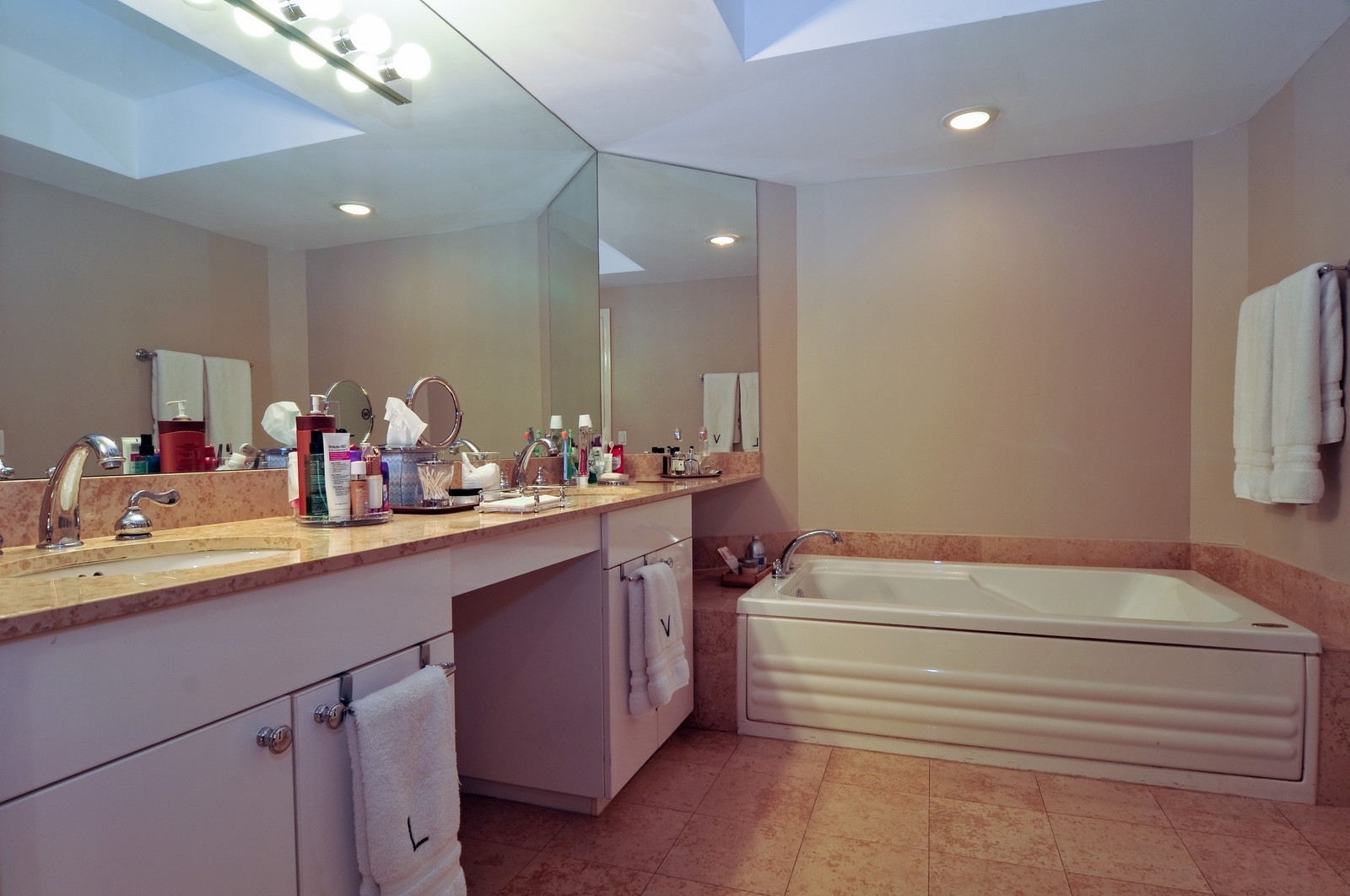 Real Estate Photography - 4775 Collins Ave, Unit 3708, Miami Beach, FL, 33140 - Master Bathroom