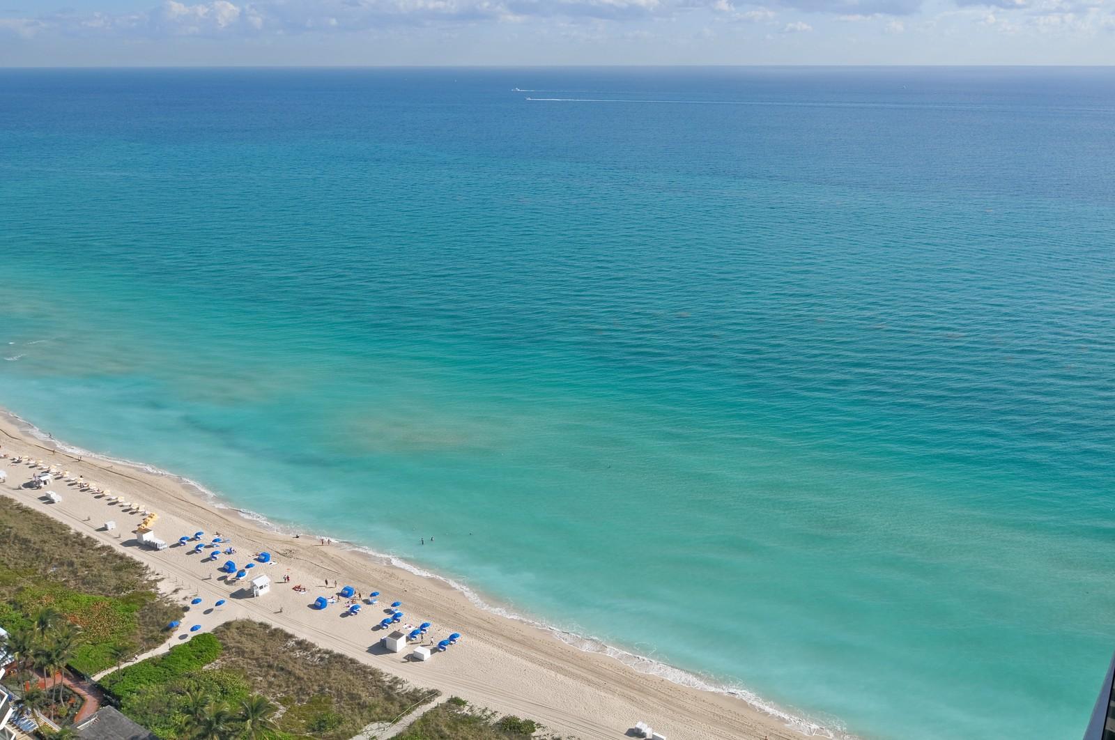 Real Estate Photography - 4775 Collins Ave, Unit 3708, Miami Beach, FL, 33140 - Beach