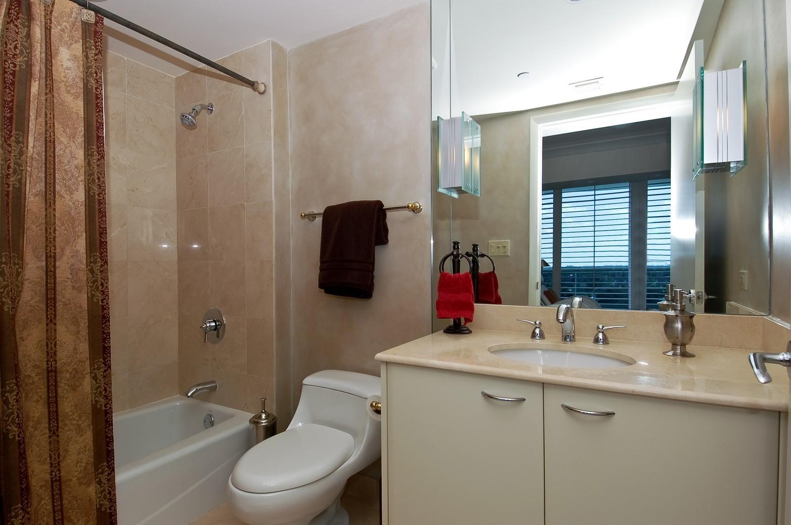 Real Estate Photography - 1600 S Ocean Blvd, Apt 802, Pompano Beach, FL, 33062 - 3rd Bathroom