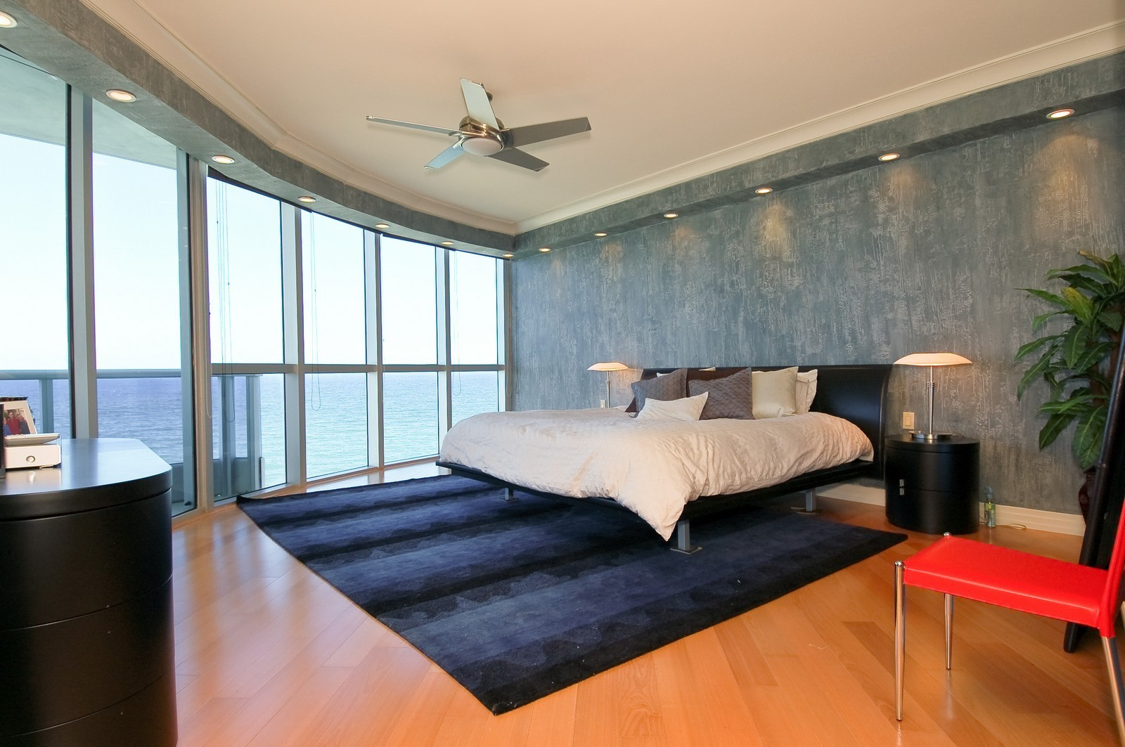 Real Estate Photography - 1600 S Ocean Blvd, Apt 802, Pompano Beach, FL, 33062 - Master Bedroom