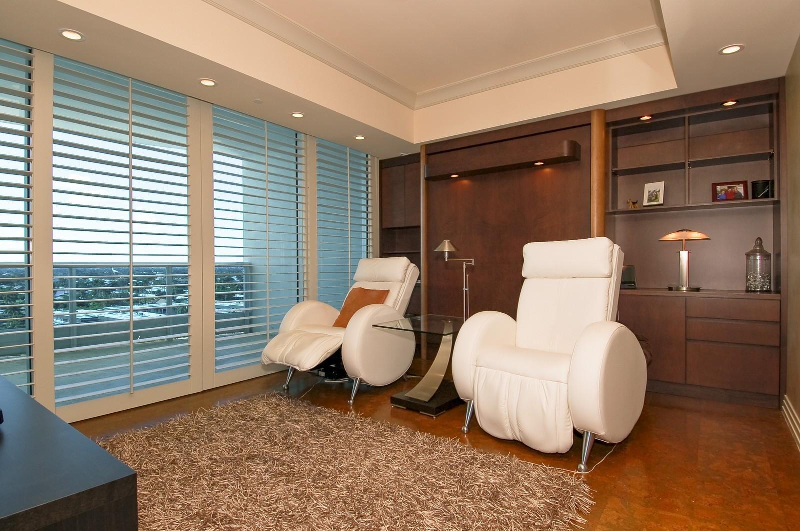 Real Estate Photography - 1600 S Ocean Blvd, Apt 802, Pompano Beach, FL, 33062 - 2nd Bedroom