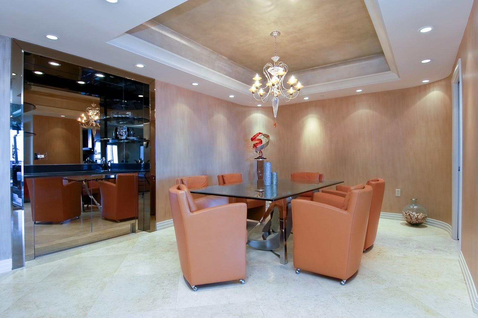 Real Estate Photography - 1600 S Ocean Blvd, Apt 802, Pompano Beach, FL, 33062 - Dining Room