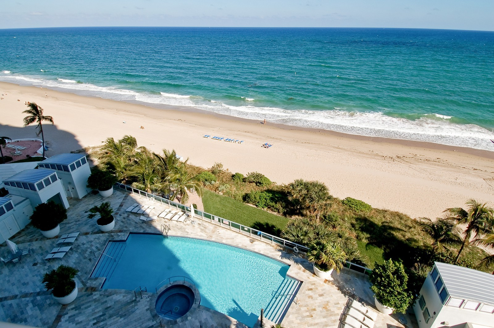 Real Estate Photography - 1600 S Ocean Blvd, Apt 802, Pompano Beach, FL, 33062 - Ocean View