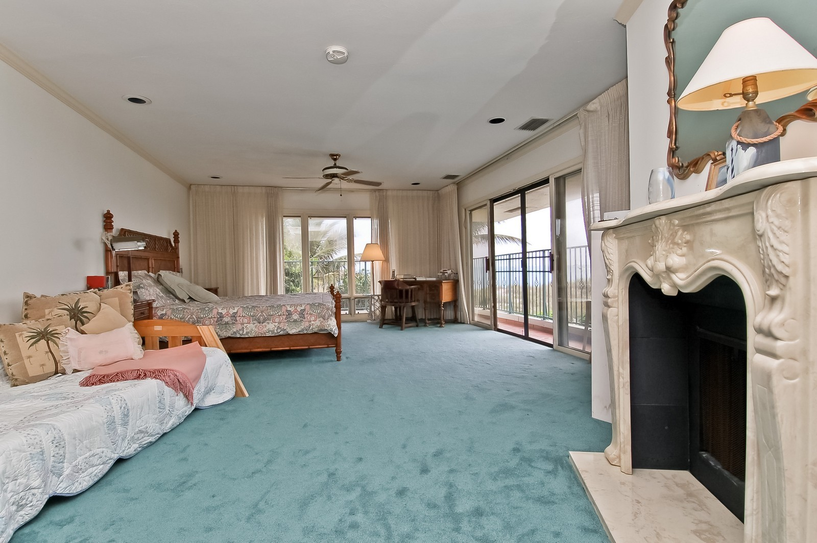 Real Estate Photography - 2004 Bay Dr, Pompano Beach, FL, 33062 - Master Bedroom