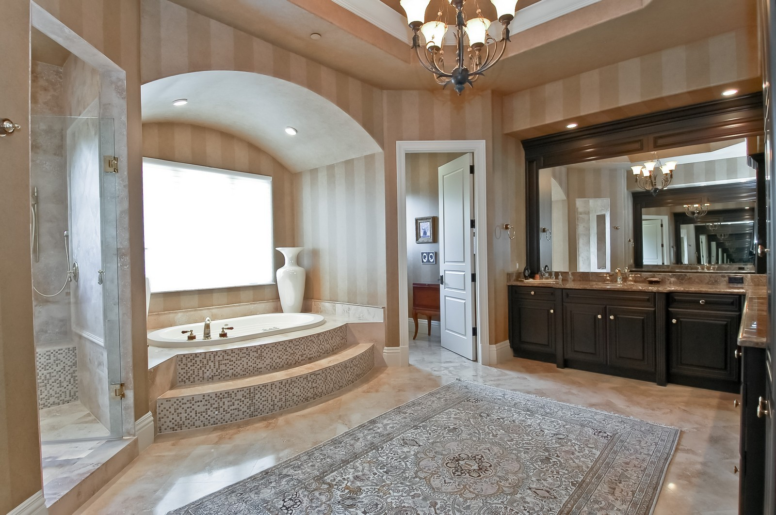 Real Estate Photography - 4022 S Ocean Blvd, Highland Beach, FL, 33487 - Master Bathroom